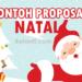 Contoh Proposal Natal 2020 dan Rincian Biaya Terlengkap