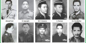 Daftar Pahlawan Revolusi Indonesia Gugur pada Peristiwa G30S PKI